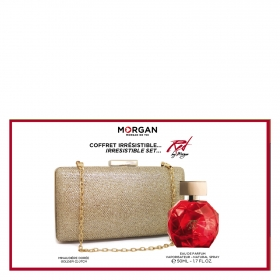 Estuche Morgan Red (Colonia 50 ml + Bolso) Morgan 1 ud.