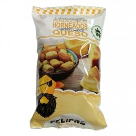 Snacks horneados sabor queso Felipas 90 g.