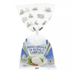 Queso mozzarella de Búfala Solo Italia 125 g.