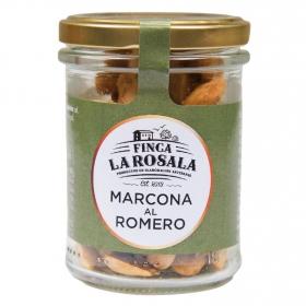 Almendras marcona al romero  Finca La Rosala 90 g.