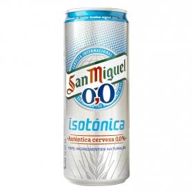 Cerveza 0,0% isotónica