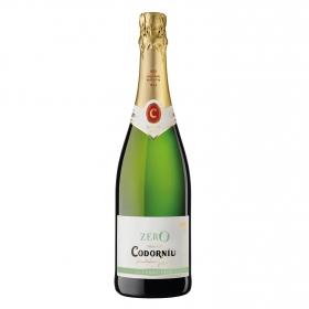 Vino Codorníu espumoso zero sin alcohol 75 cl.