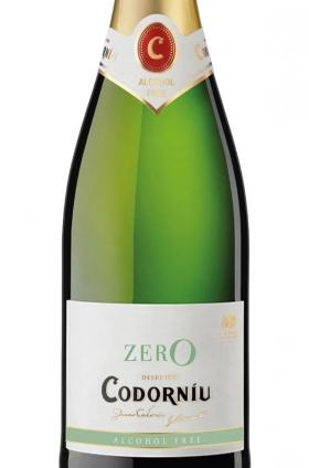 Codorníu Zero Espumoso Blanco Sin Alcohol