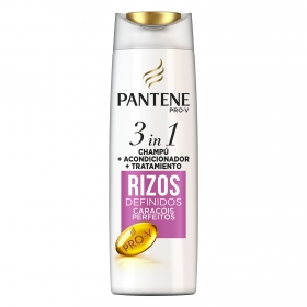 Champú Rizos definidos 3 en 1 Pantene 300 ml.