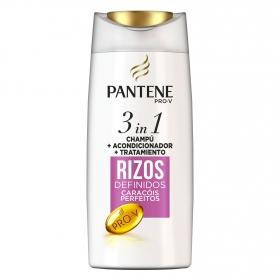Champú Rizos definidos 3 en 1 Pantene 675 ml.