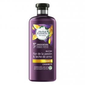 Champú flor de la pasión ecológico Herbal Essences 400 ml.