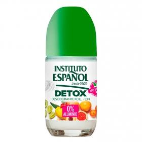 Desodorante roll-on detox Instituto Español 75 ml.