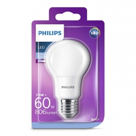 Bombilla Philips LED 60W casquillo E27