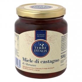 Miel de castaño Terre d'Italia 500 g.