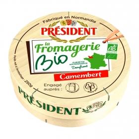 Queso camembert ecólogico President 250 g