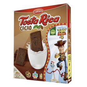 Galletas cacao Tosta Rica Cuétara 570 g.