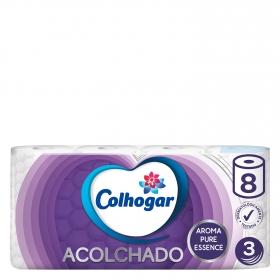 Papel higienico acolchado