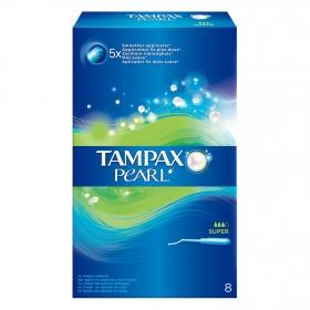 Tampones Pearl super Tampax 8 ud.