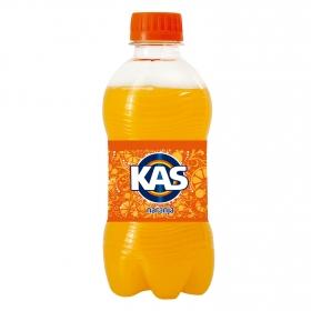 Refresco de naranja Kas con gas botella 33 cl.