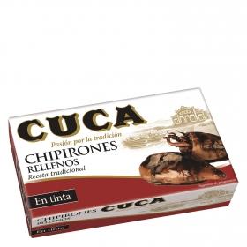 Chipirones rellenos en su tinta Cuca 72 g.