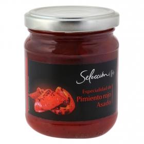 Especialidad de pimiento rojo asado Carrefour Selección 220 g.