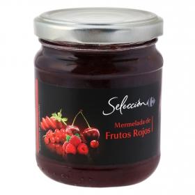Mermelada de frutos rojos Carrefour Selección 220 g.