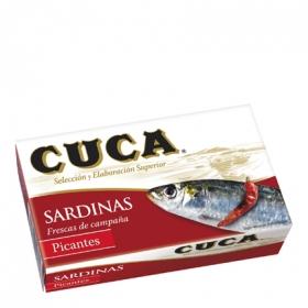 Sardinas en aceite picantes