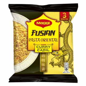 Pasta oriental Fusian sabor curry Maggi 69 g.