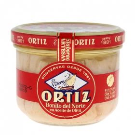 Bonito del Norte en aceite de oliva Ortiz 150 g.
