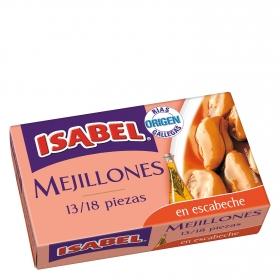 Mejillones en escabeche, Rías Gallegas 13/18 Isabel 69 g.