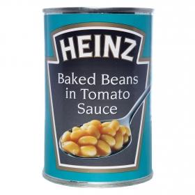 Alubias cocidas en salsa de tomate Heinz 420 g.
