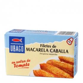 Filetes de caballa en tomate Ubago 90 g.