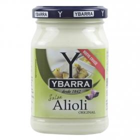Salsa alioli Ybarra sin gluten y sin lactosa tarro 225 ml.