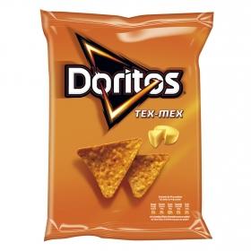 Nachos sabor queso Doritos Tex mex 150 g.
