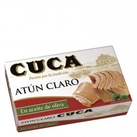 Atún claro en aceite de oliva Cuca 80 g.