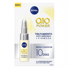 Ampollas tratamiento antiarrugas y firmeza Q10 Power Nivea 6,5 ml.
