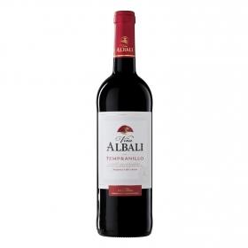 Vino D.O. Valdepeñas tinto tempranillo Viña Albali 75 cl.