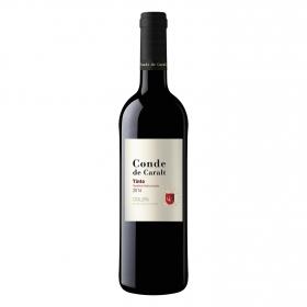 Vino D.O. Cataluña tinto Conde de Caralt 75 cl.