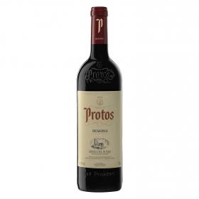 Vino D.O. Ribera del Duero tinto reserva Protos 75 cl.