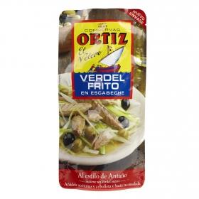 Verdel frito en escabeche Ortiz 200 g.