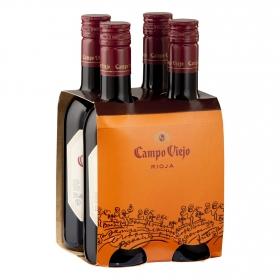 Vino D.O. Rioja tinto Campo Viejo pack 4x25 cl.