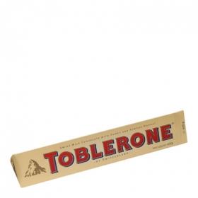 Chocolatina leche Toblerone 360 g.