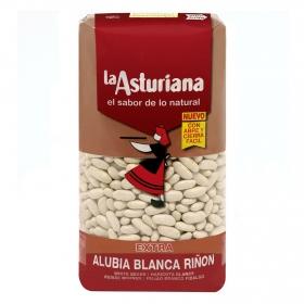 Alubia blanca riñón categoría extra La Asturiana categoría 1 kg.