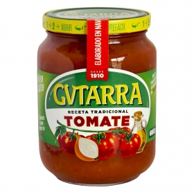 Tomate frito Gvtarra sin gluten tarro 660 g.