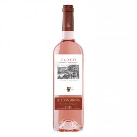 Vino D.O. Rioja rosado de lágrima Selección Viñedos El Coto 75 cl.