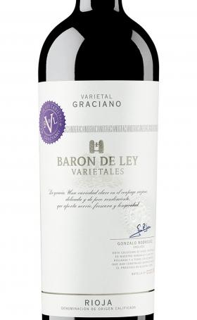 Barón de Ley Varietales Graciano Tinto 2015