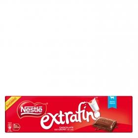 Chocolate con leche extrafino Nestlé sin gluten 300 g.
