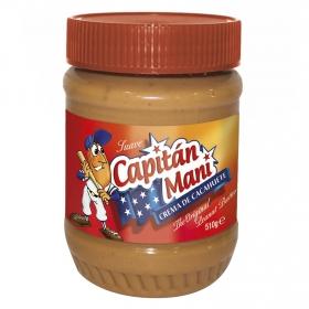 Crema de cacahuete suave Capitán Maní 510 g.