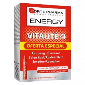 Complemento alimenticio Vitalité 4 Forté Pharma - Energy 20 ud.