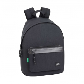 Mochila Day Pack Benetton Negra
