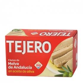 Filetes de melva de andalucia en aceite de oliva Usisa 78 g.