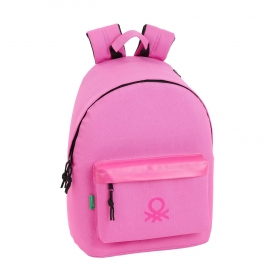 Mochila Day Pack Benetton Rosa