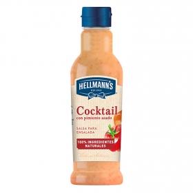 Salsa cocktail con pimiento asado Hellmanns 210 ml.