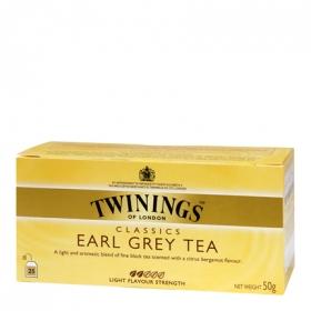 Té Earl Grey en bolsitas Twinings 25 ud.
