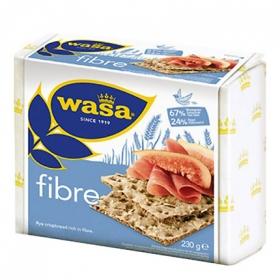 Pan de fibra Wasa 230 g.